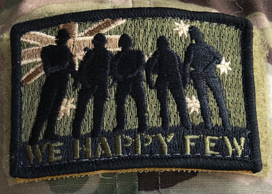 WHF Velcro Morale patch - Subdued Australian Flag