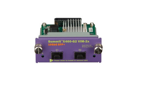 X460-G2 VIM-2x Extreme Networks Interface Module - 16711 (Refurb)