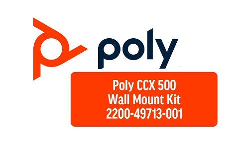 2200-49713-001 Poly CCX 500 Phone Wallmount Kit (Refurb)