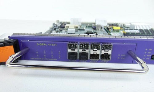 S-G8Xc Extreme Networks BlackDiamond 8800 SFP Expansion Module - 41821 (Refurb)