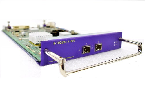 S-10G2Xc Extreme Networks BlackDiamond 8800 SFP+ Expansion Module - 41823 (Refurb)