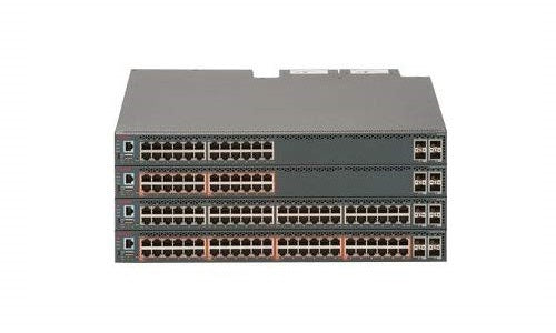 AL5900A1B-E6 Extreme Networks ERS 5900 Switch, Back-to-Front (Refurb)