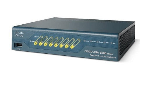 ASA5505-BUN-K9 Cisco ASA 5505 Security Appliance (New)