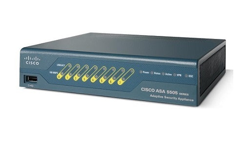ASA5505-SEC-BUN-K9 Cisco ASA 5505 Security Appliance (Refurb)