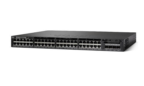 C1-WS3650-48PQ/K9 Cisco ONE Catalyst 3650 Network Switch (Refurb)