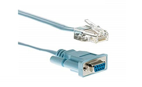 CAB-CONSOLE-RJ45 Cisco Console Cable, 6 ft (New)