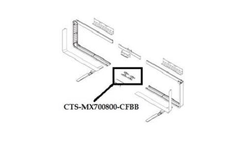 CTS-MX700800-CFBB Cisco TelePresence MX700/MX800 Floor Stand Lower Joining Bracket (New)