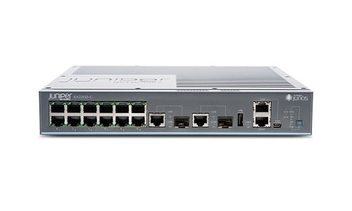 EX2200-C-12T-2G Juniper Compact EX2200-c Ethernet Switch (New)