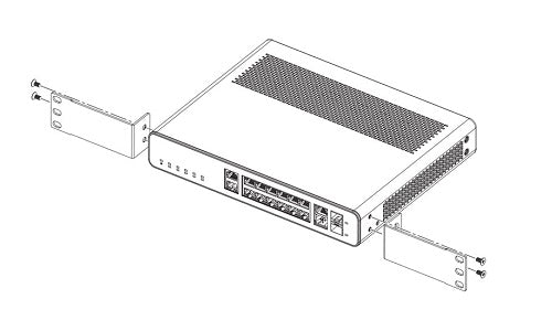 ICX6400-C12-RMK Brocade Rack Mount Kit (New)