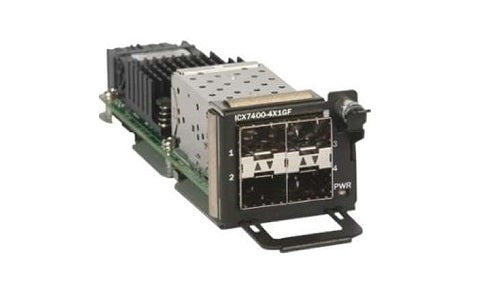 ICX7400-4X1GF Brocade ICX Expansion Module (Refurb)