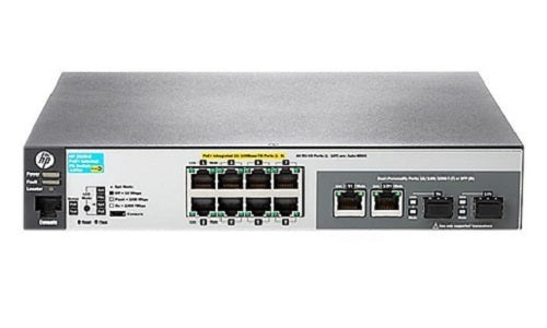 J9774A HP Aruba 2530-8G-PoE+ Switch (New)