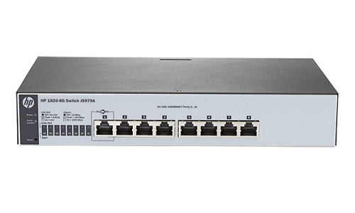 J9979A HP OfficeConnect 1820-8G Switch (Refurb)