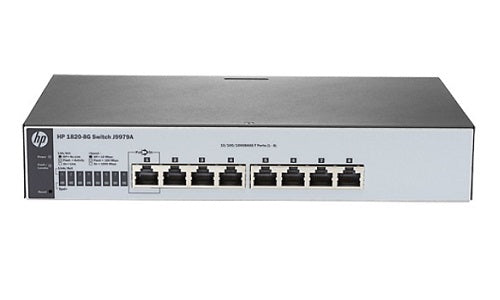J9982A HP OfficeConnect 1820-8G-PoE+ (65W) Switch (Refurb)
