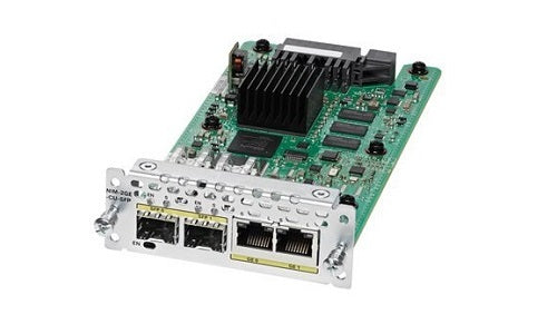 NIM-2GE-CU-SFP Cisco Network Interface Module (Refurb)