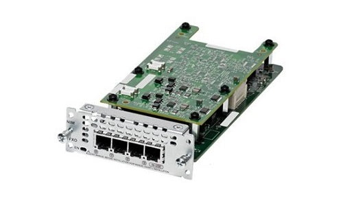 NIM-4FXO Cisco Network Interface Module (New)