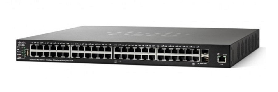 SG350XG-48T-K9-NA Cisco SG350XG-48T Stackable Managed Switch, 48 10GBase-T and 2 10Gig SFP+ Ports (New)