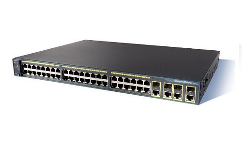 WS-C2960G-48TC-L Cisco Catalyst 2960G Network Switch (Refurb)