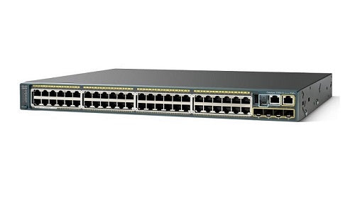 WS-C2960S-48TS-L Cisco Catalyst 2960S Network Switch (New)