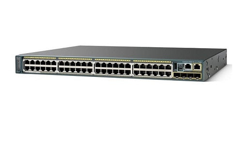 WS-C2960S-F48FPS-L Cisco Catalyst 2960S Network Switch (New)
