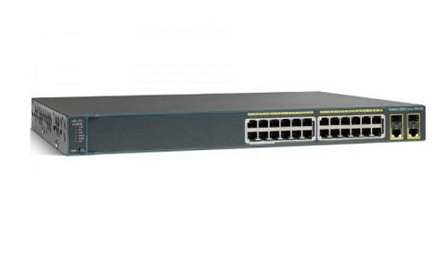 WS-C2960+24LC-L Cisco Catalyst 2960-Plus Network Switch (Refurb)