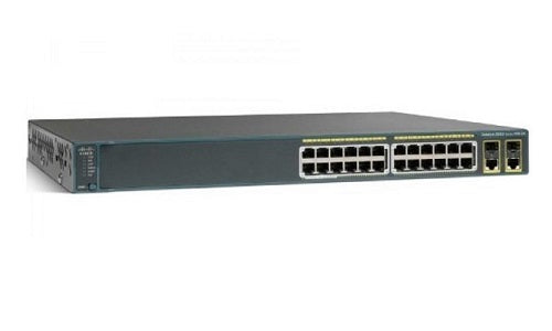 WS-C2960+24PC-L Cisco Catalyst 2960-Plus Network Switch (Refurb)
