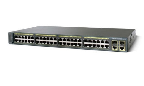 WS-C2960+48PST-S Cisco Catalyst 2960-Plus Network Switch (New)