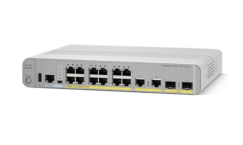 WS-C3560CX-12PD-S Cisco Catalyst 3560CX Network Switch (Refurb)
