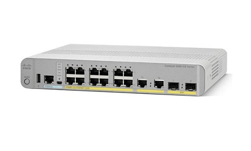 WS-C3560CX-12TC-S Cisco Catalyst 3560CX Network Switch (Refurb)