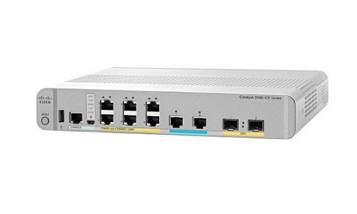 WS-C3560CX-8PT-S Cisco Catalyst 3560CX Network Switch (Refurb)