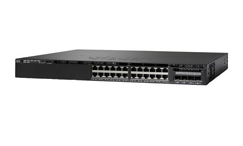 WS-C3650-24PS-E Cisco Catalyst 3650 Network Switch (New)
