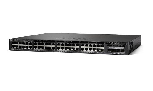 WS-C3650-48PD-L Cisco Catalyst 3650 Network Switch (Refurb)