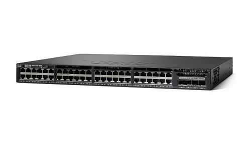WS-C3650-48PQ-E Cisco Catalyst 3650 Network Switch (Refurb)
