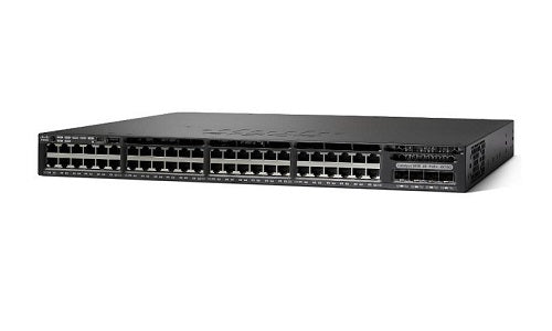 WS-C3650-48PWD-S Cisco Catalyst 3650 Network Switch Bundle (New)