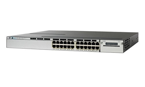 WS-C3750X-24P-S Cisco Catalyst 3750X Network Switch (Refurb)