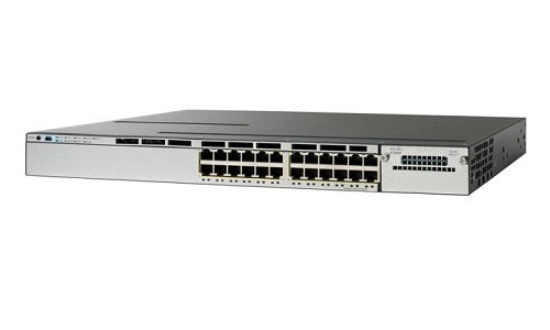 WS-C3750X-24S-S Cisco Catalyst 3750X Network Switch (New)