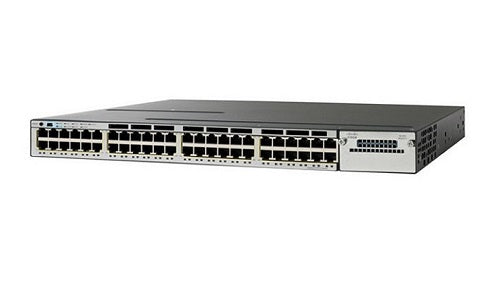 WS-C3750X-48P-E Cisco Catalyst 3750X Network Switch (Refurb)