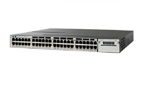 WS-C3850-48P-S Cisco Catalyst 3850 Network Switch (New)