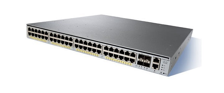 WS-C4948E-F-S Cisco Catalyst 4948E Network Switch (Refurb)