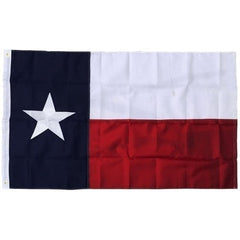 Durable American Flag Texas 3x5 Ft Nylon Embroidered Star Sewn Banner Brass Grommets Home and Outdoor USA US Flags and Banners