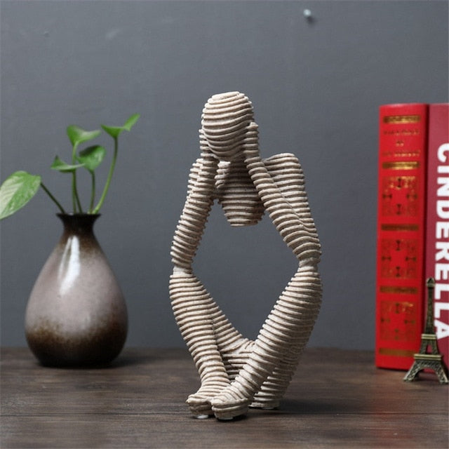 Creative Home Decorations Living Room Office Bedroom Abstract Figure Decorative Ornaments