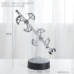 Modern Perpetual Motion Machine Newton's Pendulum Home Decoration Accessories Creative Office Desk Decor Children's Room Decor