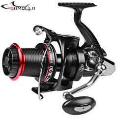 2020 Strong Fishing Reel 20KG Max Drag Sea Boat 8000-10000 Carp Spinning Reel 14+1BB Stainless Steel Bearing Molinete Pesca
