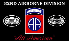 90*150cm US Army 82nd Airborne Division All American Flag