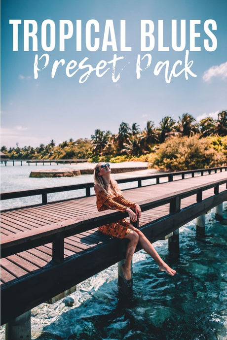 TROPICAL BLUES - DESKTOP PRESET PACK
