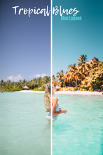 Load image into Gallery viewer, TROPICAL BLUES - DESKTOP PRESET PACK