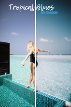 Load image into Gallery viewer, TROPICAL BLUES - MOBILE PRESET PACK