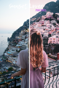SUNSET LOVER - MOBILE PRESET PACK