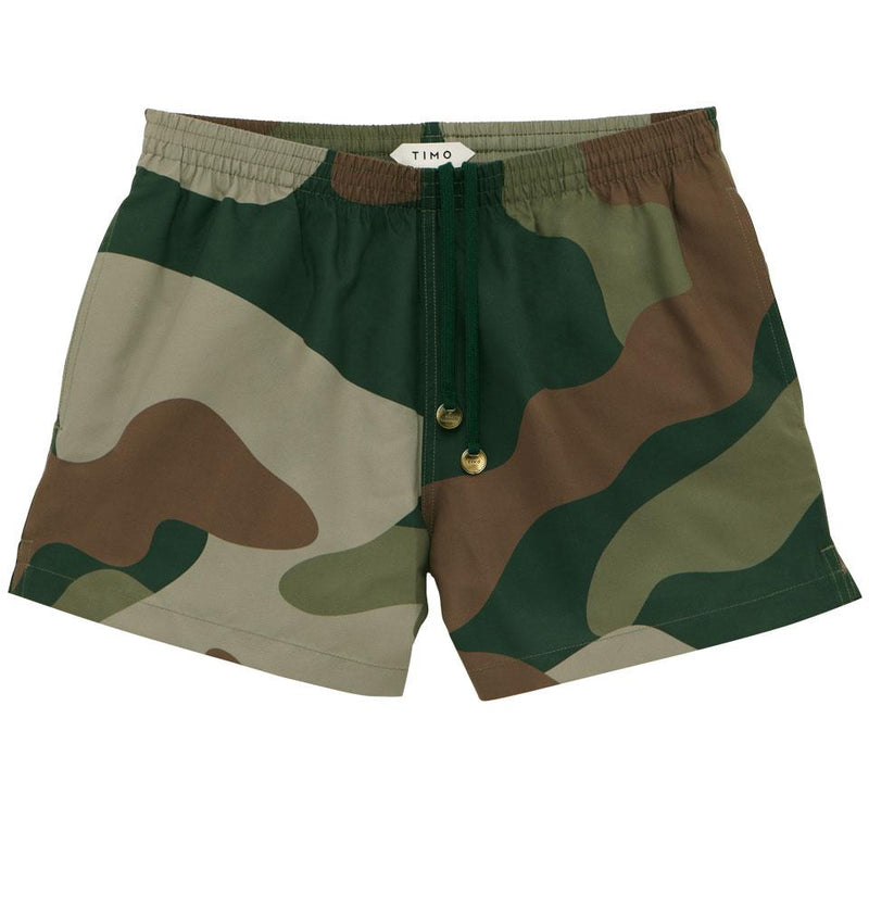 EDITION CAMO GREEN TIMOTRUNKS