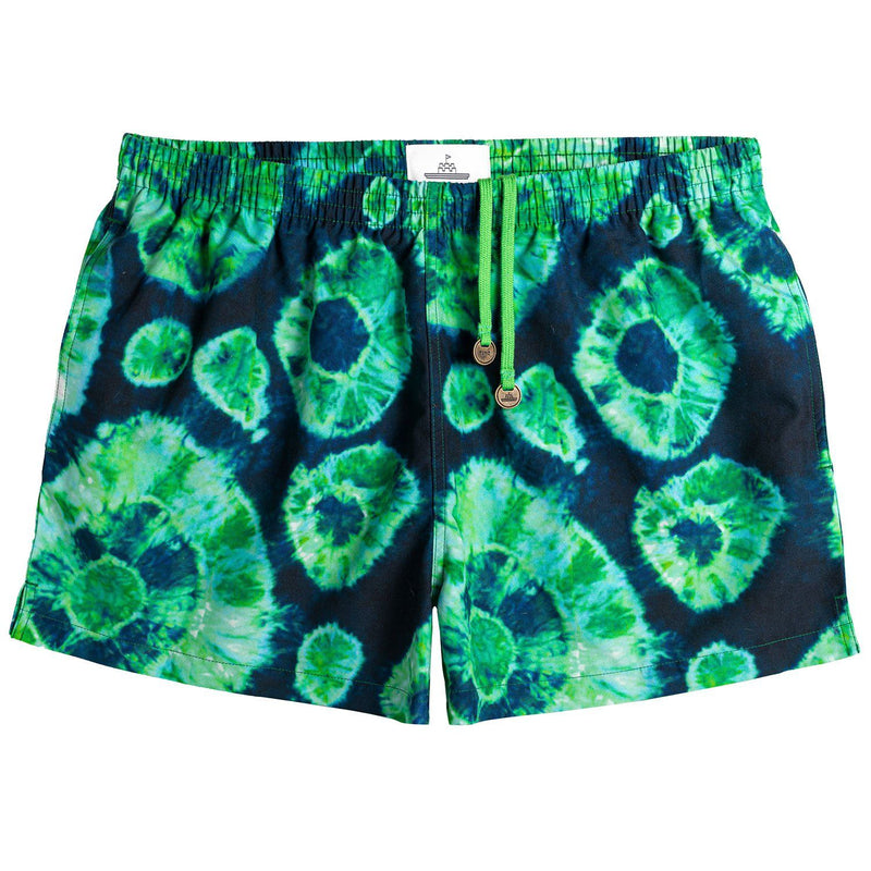 EDITION GREEN SHIBORI TIMO TRUNKS