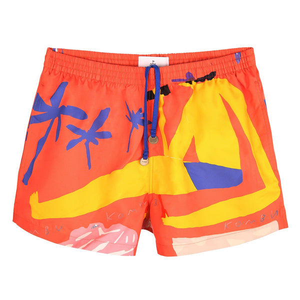EDITION MYKONOS ORANGE TIMO TRUNKS